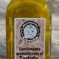 Olio al tartufo condimento aromatizzato al tartufo nero