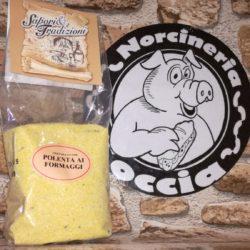 polenta ai formaggi